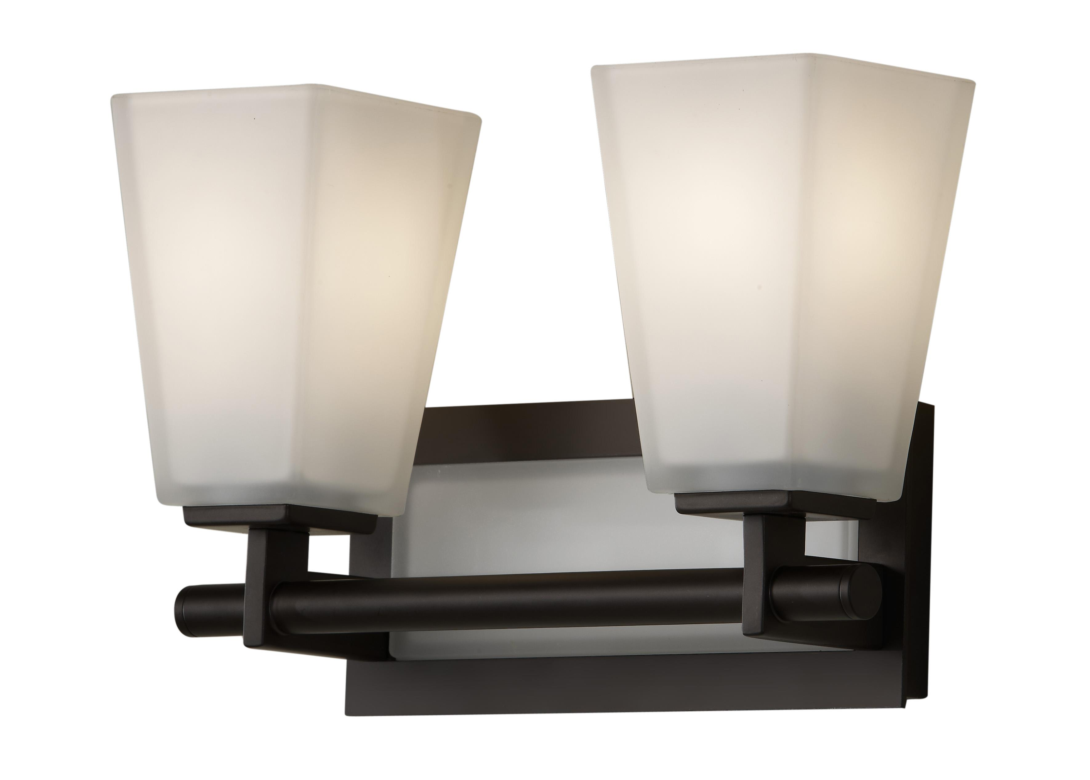 Murray Feiss Vs16602 Orb Clayton 2 Light Bathroom Vanity Lighting Oil Rubbed Bronze