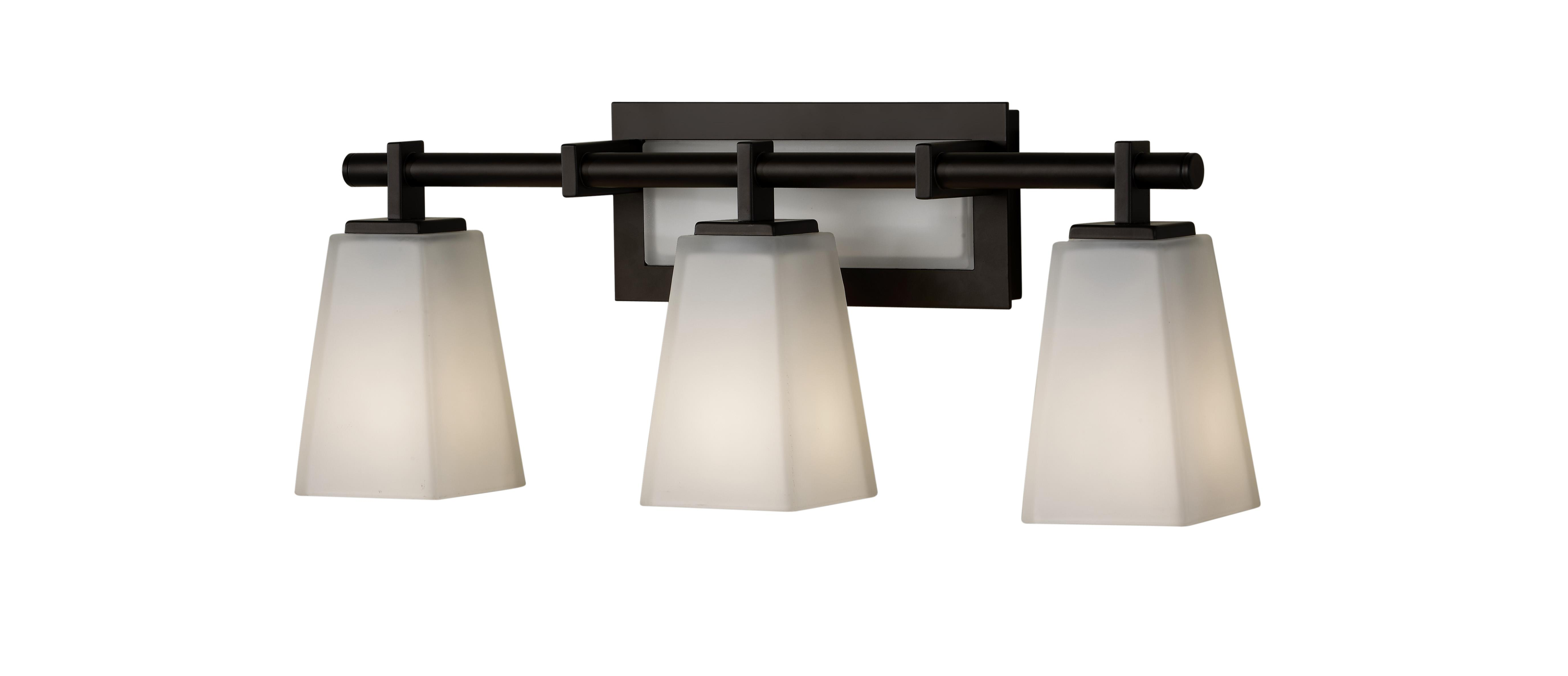 Feiss Bristol 2 Light Vanity Fixture In Oil Rubbed Bronze: Best Home Decorating Ideas