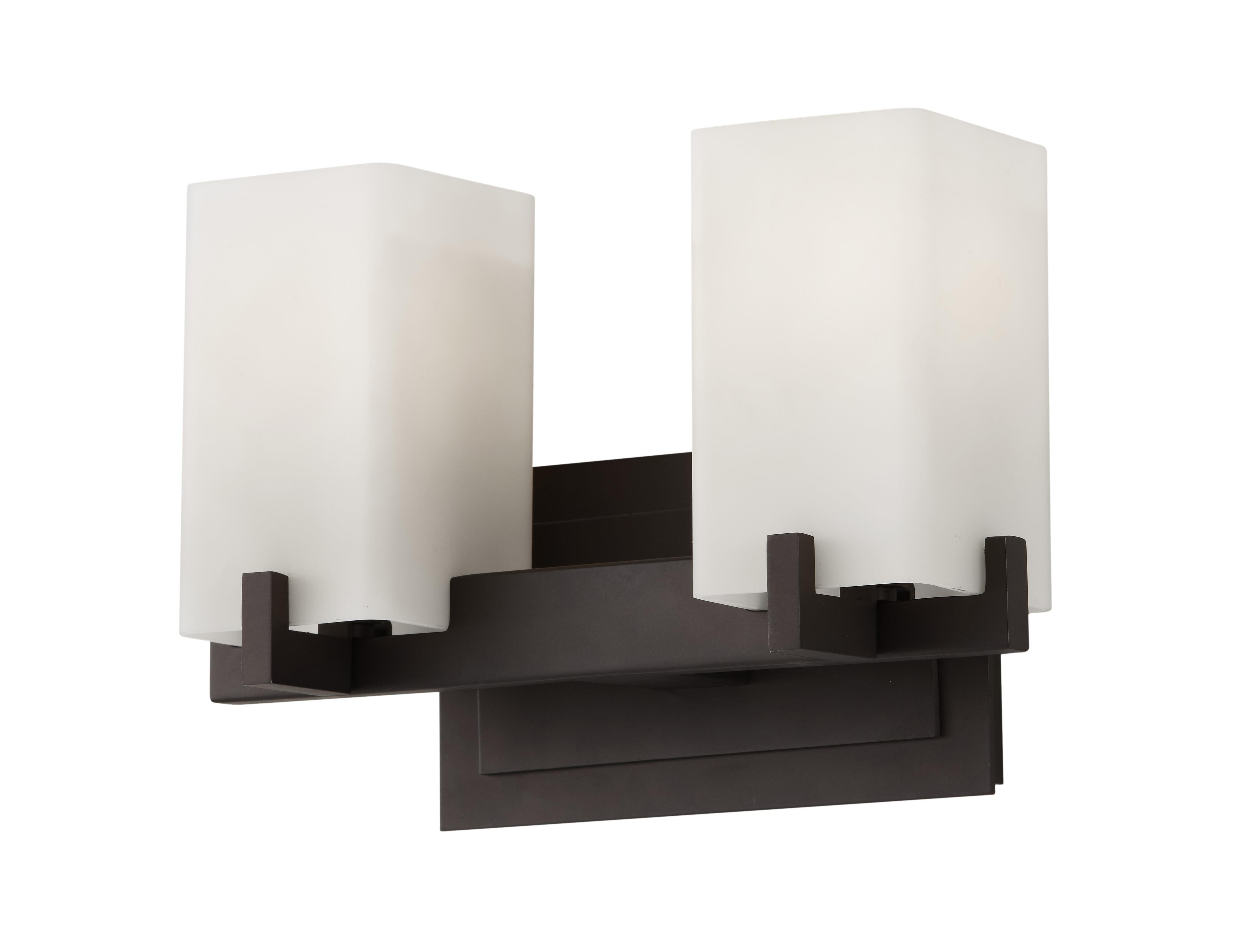 Murray Feiss Vs18402 Orb Riva 2 Light Bathroom Vanity Lighting Oil Rubbed Bronze