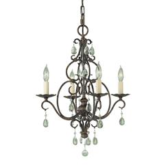Murray Feiss F1904/4MBZ 4- Light Mini Chandelier