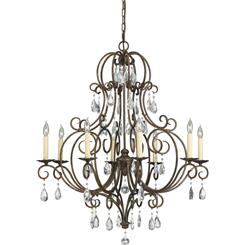 Murray Feiss F2303/8MBZ 8- Light Chandelier