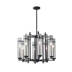 Murray Feiss F2628/8AF/BS 8- Light Single Tier Chandelier
