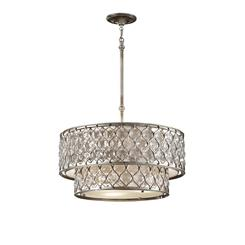 Murray Feiss F2707/6BUS Lucia Collection 6- Light Chandelier