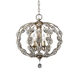 Murray Feiss F2741/3BUS 3- Light Chandelier