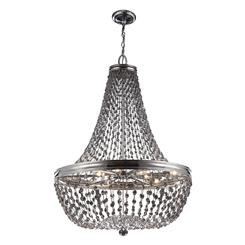 Murray Feiss F2915/9PN 9 - Light Malia Chandelier