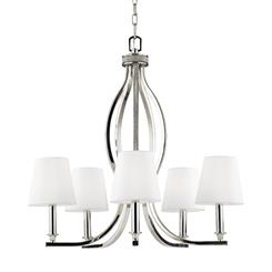 Murray Feiss F2967/5PN 5 - Light Chandelier