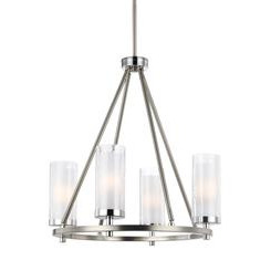 Murray Feiss F2984/4SN/CH 4 - Light Chandelier
