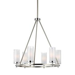Murray Feiss F2985/6SN/CH 6 - Light Chandelier