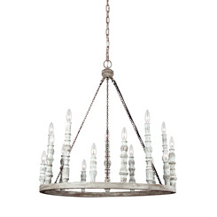 Murray Feiss F3142/15DFB/DWH 15 - Light Chandelier