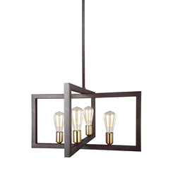 Murray Feiss F3145/4NWB Finnegan Collection 4 - Light Chandelier