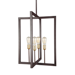Murray Feiss F3146/4NWB Finnegan Collection 4 - Light Chandelier