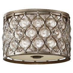 Murray Feiss FM355BUS Lucia Collection 2- Light Flush Mount