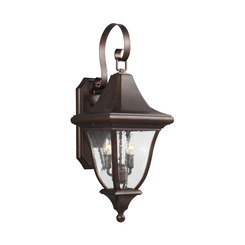 Murray Feiss OL13101PTBZ 2 - Light Outdoor Wall Lantern
