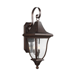 Murray Feiss OL13102PTBZ 3 - Light Outdoor Wall Lantern