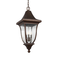 Murray Feiss OL13109PTBZ 3 - Light Outdoor Pendant Lantern