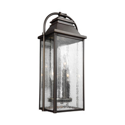Murray Feiss OL13200ANBZ Wellsworth Small 3 - Light Painted Brushed Steel Lantern
