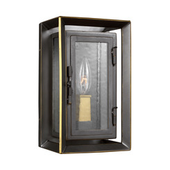 Murray Feiss OL13800ANBZ/PBB 1 - Light Outdoor Wall Lantern