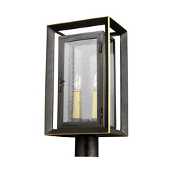 Murray Feiss OL13807ANBZ/PBB 2 - Light Outdoor Post Lantern