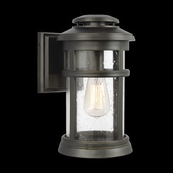 Murray Feiss OL14301ANBZ Newport Collection 1 - Light Wall Lantern