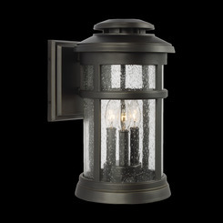 Murray Feiss OL14302ANBZ Newport Collection 3 - Light Wall Lantern