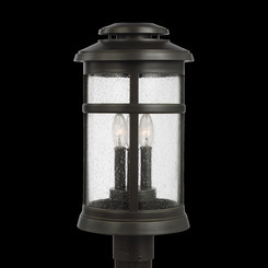 Murray Feiss OL14307ANBZ Newport Collection 3 - Light Post Lantern