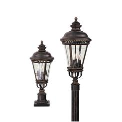 Murray Feiss OL1907GBZ 3- Light Post