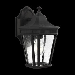 Murray Feiss OL5420BK 1 Light Black Outdoor Wall Lantern