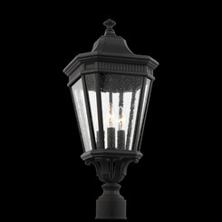 Murray Feiss OL5427BK Cotswold Lane Collection 3 - Light Post Lantern