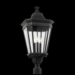 Murray Feiss OL5428BK Cotswold Lane Collection 3 - Light Post/Pier Lantern