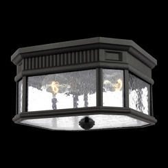 Murray Feiss OL5433BK Cotswold Lane Collection 2 - Light Flush Mount
