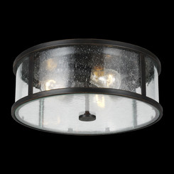 Murray Feiss OL7633ES Dakota Collection 3 - Light Flush Mount
