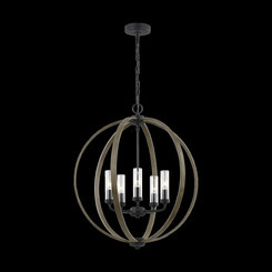 Murray Feiss OLF3294/5WOW/AF 5 - Light Chandelier
