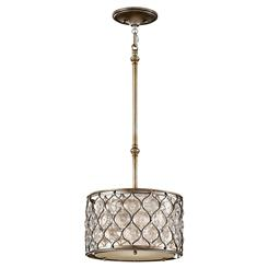 Murray Feiss P1259BUS Lucia Collection 1- Light Pendant