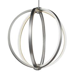 "Murray Feiss P1392SN 20"" LED Globe Pendant"