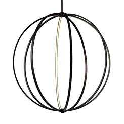 "Murray Feiss P1412ORB 48"" LED Globe Pendant"
