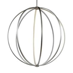 "Murray Feiss P1412SN 48"" LED Globe Pendant"