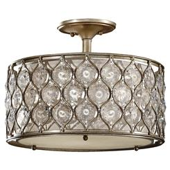 Murray Feiss SF289BUS Lucia Collection 3- Light Semi Flush