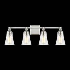 Murray Feiss VS24704SN Monterro Collection 4 - Light Vanity