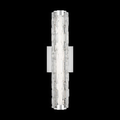 "Murray Feiss WB1876CH-L1 Cutler Collection 18"" LED Wall Sconce Integrated LED"