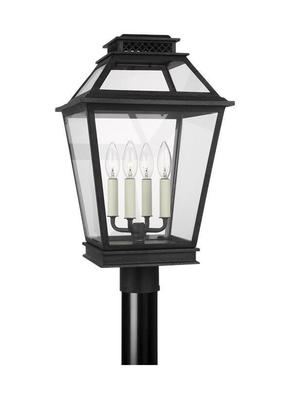Murray Feiss CO1064DWZ Falmouth Dark Weathered Zinc Post Lantern