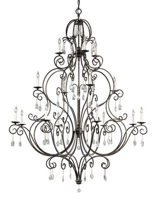 Murray Feiss F2110/8+4+4MBZ 16 - Light Multi-Tier Chandelier