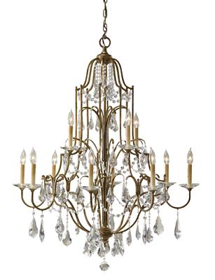 Murray Feiss F2479/8+4OBZ Valentina Oxidized Bronze 12- Light Multi-Tier Chandelier