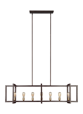 Murray Feiss F3148/7NWB Finnegan Collection 7 - Light Island Chandelier