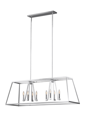 Murray Feiss F3152/8CH 8 - Light Conant Linear Chandelier