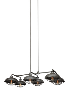 Murray Feiss F3159/6SGM 6 - Light Island Chandelier