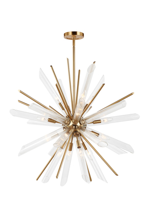 Murray Feiss F3182/16BBS 16 - Light Chandelier - THE QUORRA COLLECTION