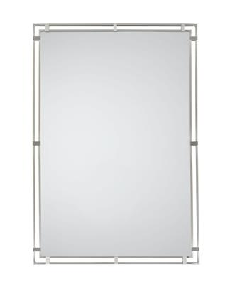 Murray Feiss MR1089BS Parker Place Brushed Steel Mirror