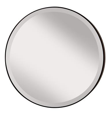 Murray Feiss MR1127ORB Johnson - Oil Rubbed Bronze Round Mirror