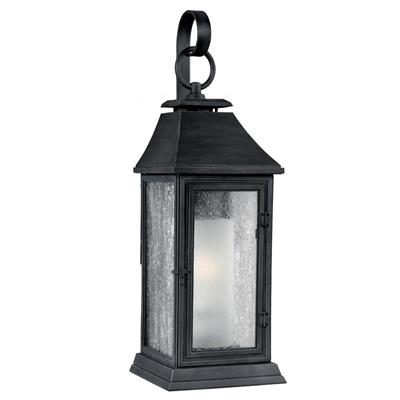 Murray Feiss OL10601DWZ Shepherd 1 - Light Outdoor Sconce Dark Weathered Zinc