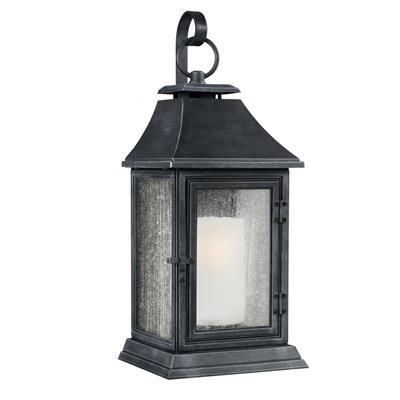 Murray Feiss OL10603DWZ Shepherd 1 Light Outdoor Sconce - Dark Weathered Zinc